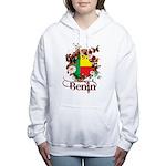 Butterfly Benin Women's Hooded Sweatshirt