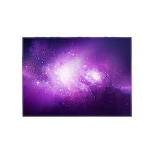 Purple Nebula 5'x7'Area Rug