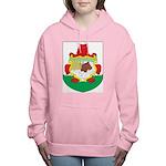 Bermuda Coat Of Arms Women's Hooded Sweatshirt
