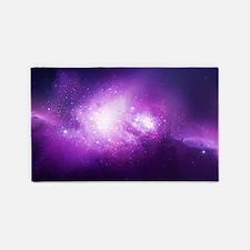 Purple Nebula 3'x5' Area Rug