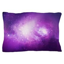 Purple Nebula Pillow Case