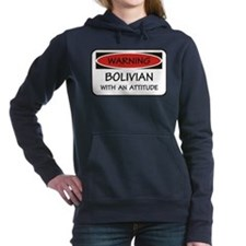 Attitude Bolivian Women's Hooded Sweatshirt