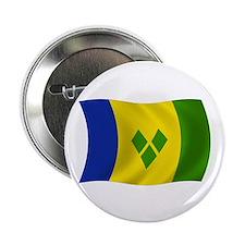 """Saint Vincent Grenadines Flag 2.25"""" Button (100 pa"""