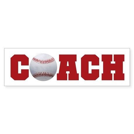 Baseball Coach 2 Bumper Sticker