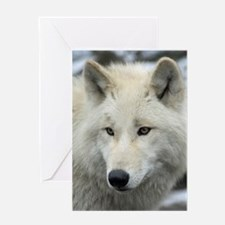Polarwolf001 Greeting Cards