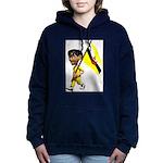 3D Brunei Women's Hooded Sweatshirt