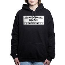 Tribal Brunei Women's Hooded Sweatshirt
