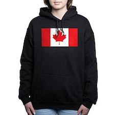 Canada Flag Women's Hooded Sweatshirt