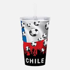 Chile Football Acrylic Double-wall Tumbler