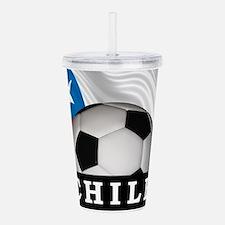 Football Chile Acrylic Double-wall Tumbler