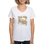 Treasure Chest Women's V-Neck T-Shirt