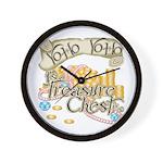 Treasure Chest Wall Clock