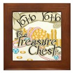 Treasure Chest Framed Tile