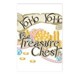 Treasure Chest Postcards (Package of 8)