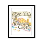 Treasure Chest Framed Panel Print