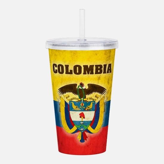 Vintage Colombia Acrylic Double-wall Tumbler