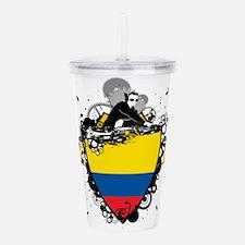 DJ Colombia Acrylic Double-wall Tumbler