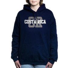 CR Costa Rica Women's Hooded Sweatshirt