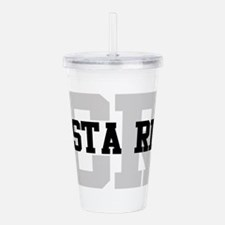CR Costa Rica Acrylic Double-wall Tumbler