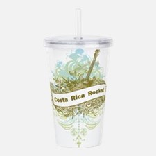Costa Rica Rocks Acrylic Double-wall Tumbler