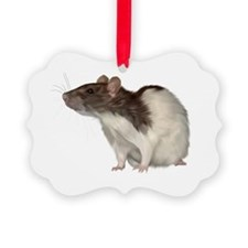 Cute Fancy rat Ornament