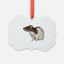 Cute Fancy rat Ornament