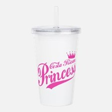 Costa Rican Princess Acrylic Double-wall Tumbler