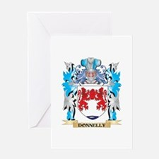 Donnelly Coat of Arms - Family Crest Greeting Card