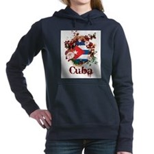 Butterfly Cuba Women's Hooded Sweatshirt