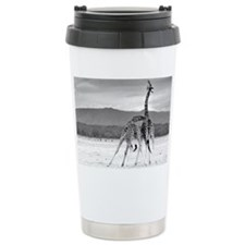 Necking Giraffes Travel Mug