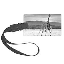 Necking Giraffes Luggage Tag