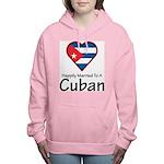Happily Married To A Cuban Women's Hooded Sweatshi