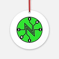 Net Neutrality Ornament (round)