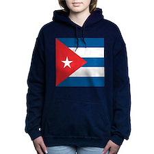 Cuba Flag Women's Hooded Sweatshirt