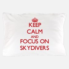 Cute Skydiv Pillow Case