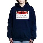 Attitude Czech Women's Hooded Sweatshirt