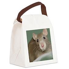 Cute Fancy rats Canvas Lunch Bag