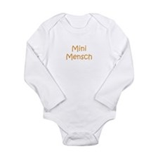 Funny Jewish Long Sleeve Infant Bodysuit