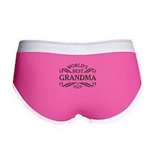 Worlds Best Grandma Women's Boy Brief