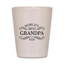 Worlds Best Grandpa Shot Glass