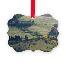 Italy, Sicily, Enna, Morning View Ornament