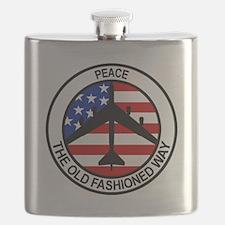Cute Air force Flask