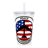Military Double-Wall Acrylic Tumbler