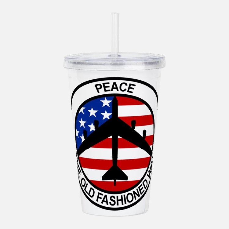 Cute Air force Acrylic Double-wall Tumbler
