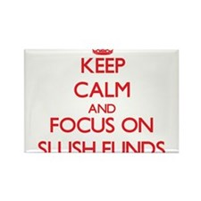 Keep Calm and focus on Slush Funds Magnets