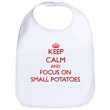 Cute Love potatoes Bib