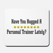 Hugged Personal Trainer Mousepad