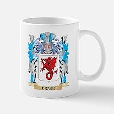 Drake Coat of Arms - Family Crest Mugs