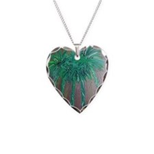 Green Palm Trees, Palm Springs Necklace