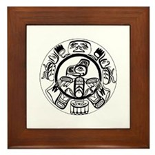 Pacific NW Design 1 Framed Tile